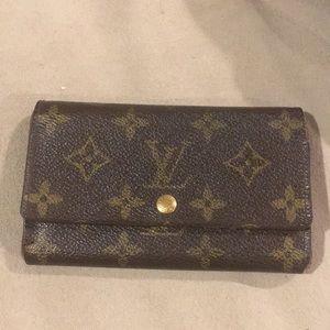 LV vtg monogram wallet
